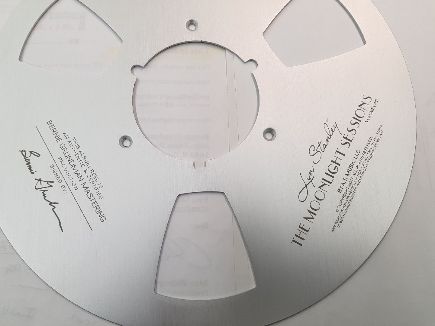 Engraved customized flanges